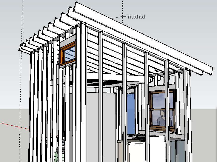 im no expert of course but this seems like it would pose no problem certainly not traditional though i could use a second set of eyes on the project so - Tiny House Framing 2