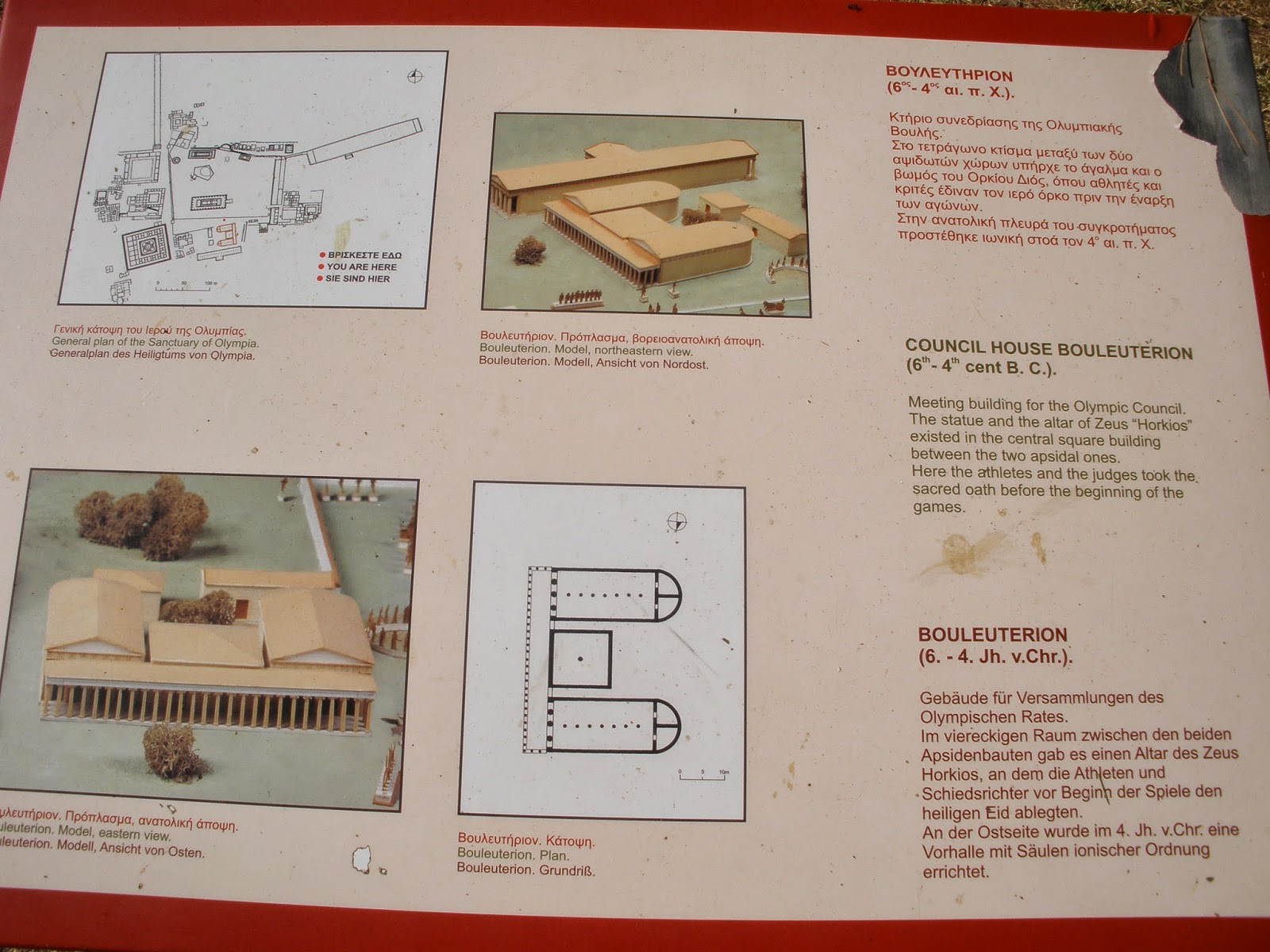 Plano Bouleuterion