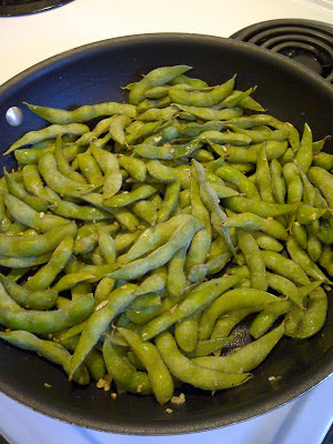 Tasty Fun Recipes - Garlic Edamame