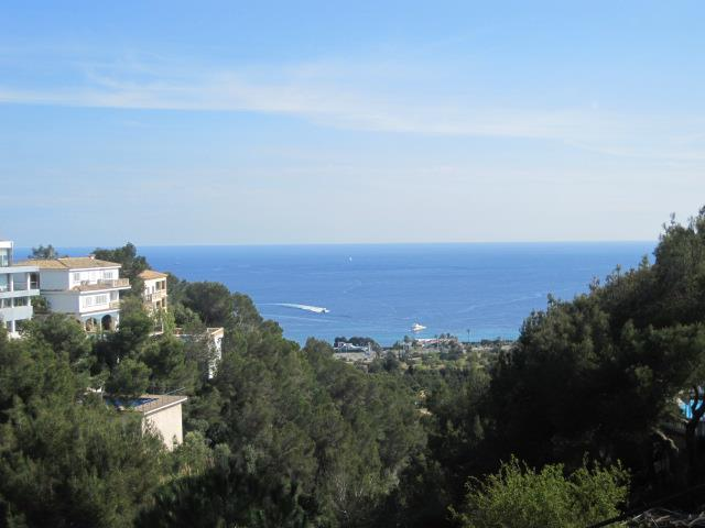 View of the sea in Mallorca