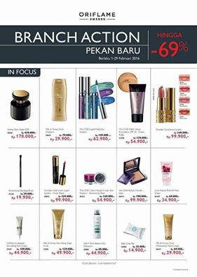 Branch Action Oriflame Indonesia Februari 2016 - Pekanbaru