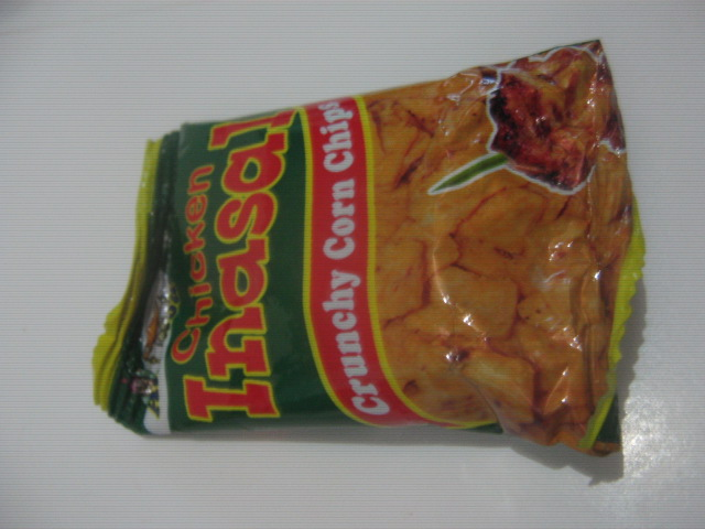 Frank & David Snack Foods Alibaba Chicken Inasal Crunchy Corn Chips Packaging Front Layout - Sari-Sari Store Archives