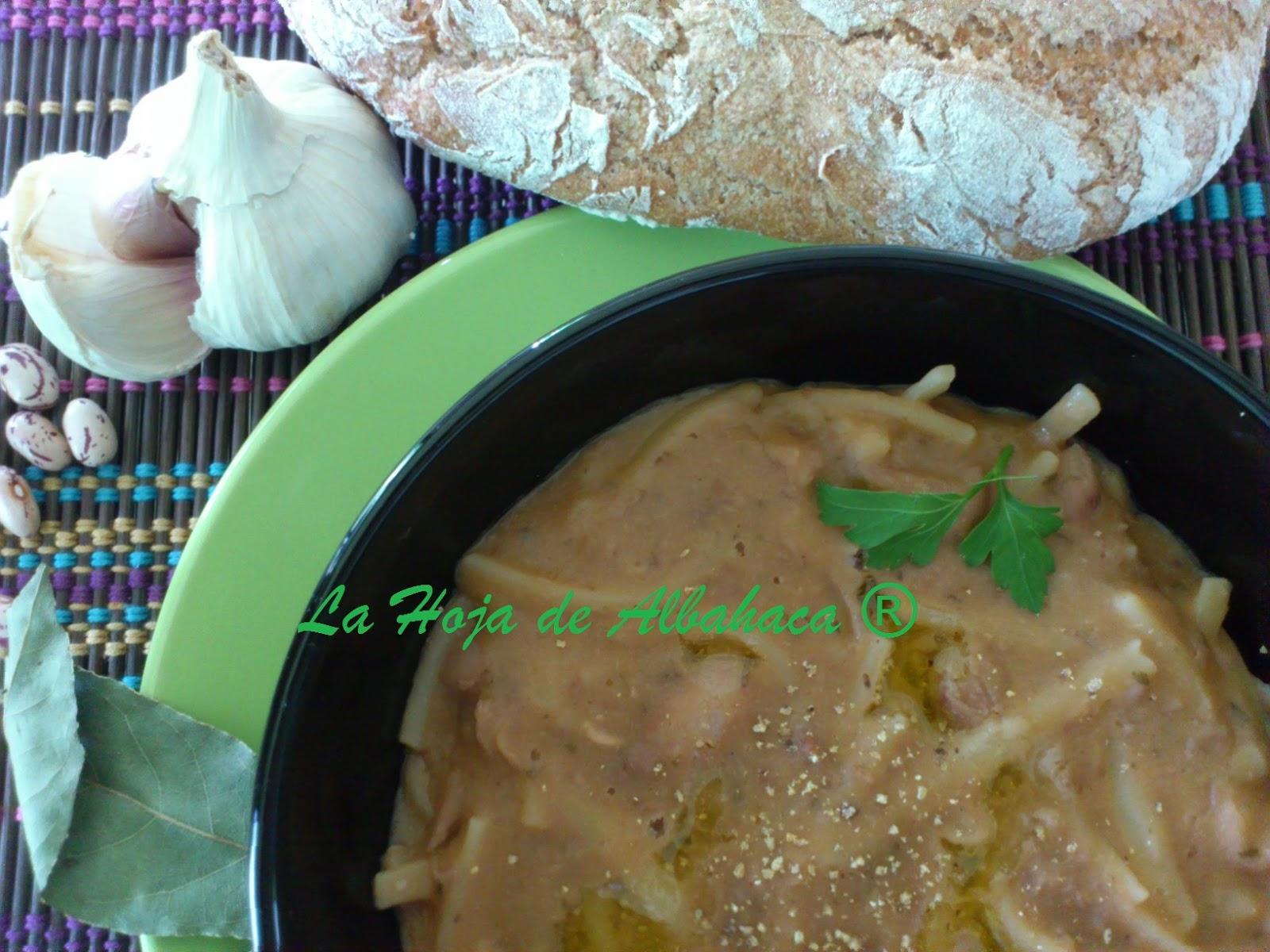 Pasta Con Alubia...