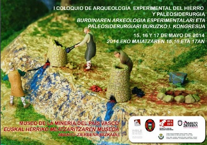 Coloquio de Arqueología Experimental del Hierro y Paleosiderurgia