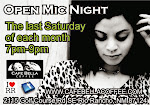 Monthly Open Mic Night!