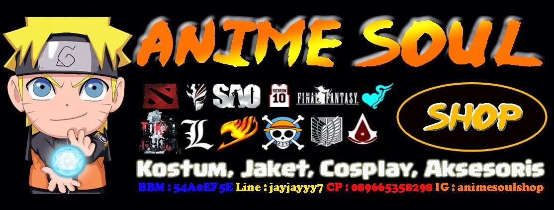 Anime Soul Shop Home