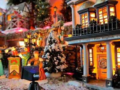 Snowed village
