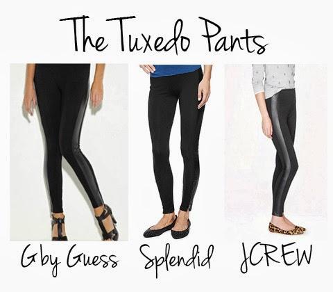 Tuxedo Pants & Tuxedo Leggings