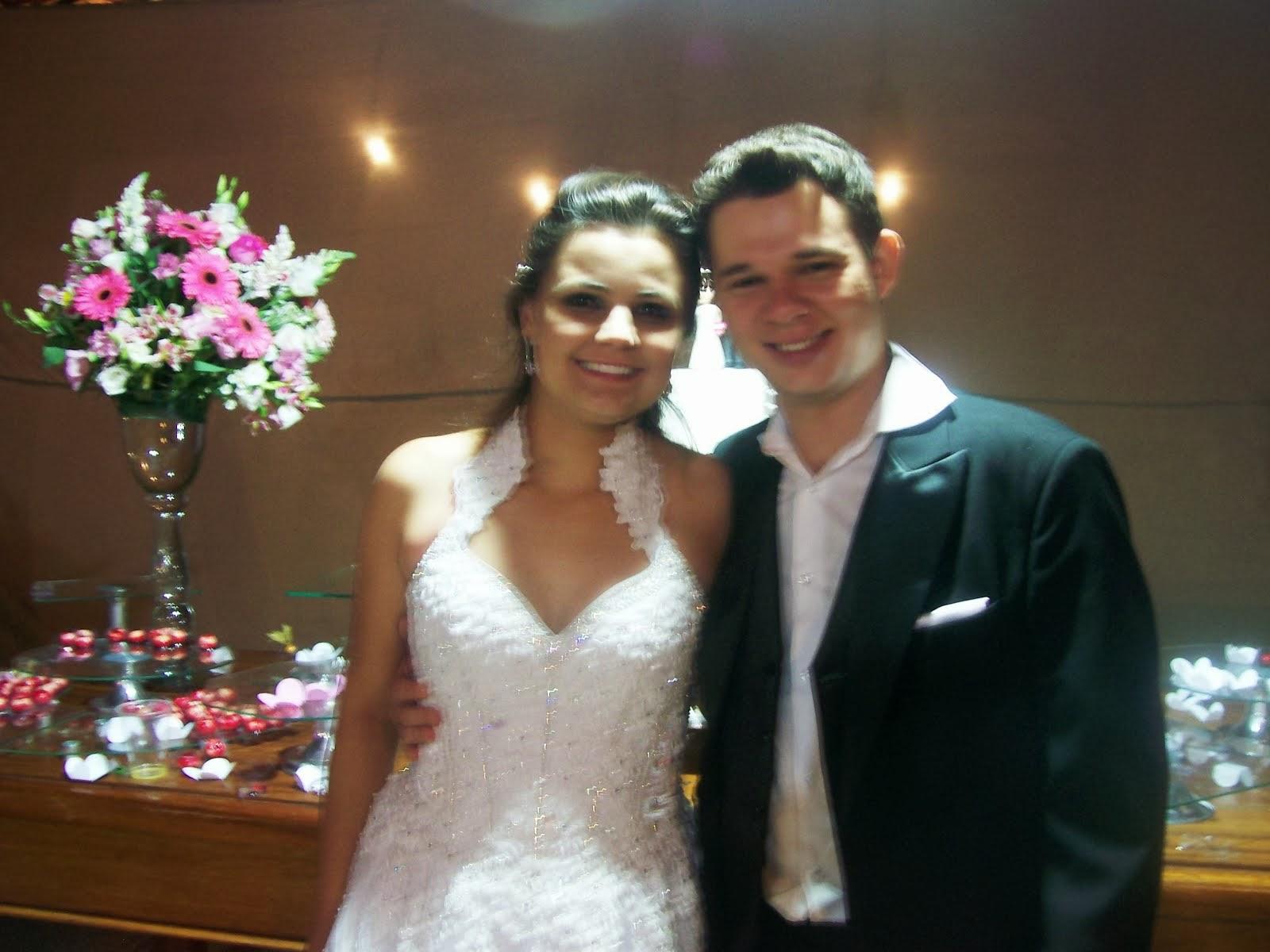 Paula e Weberson  Casamento