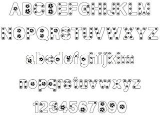 e font styles