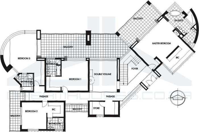 Plantas de casas tipo 3 com suite for Casas minimalistas planos arquitectonicos