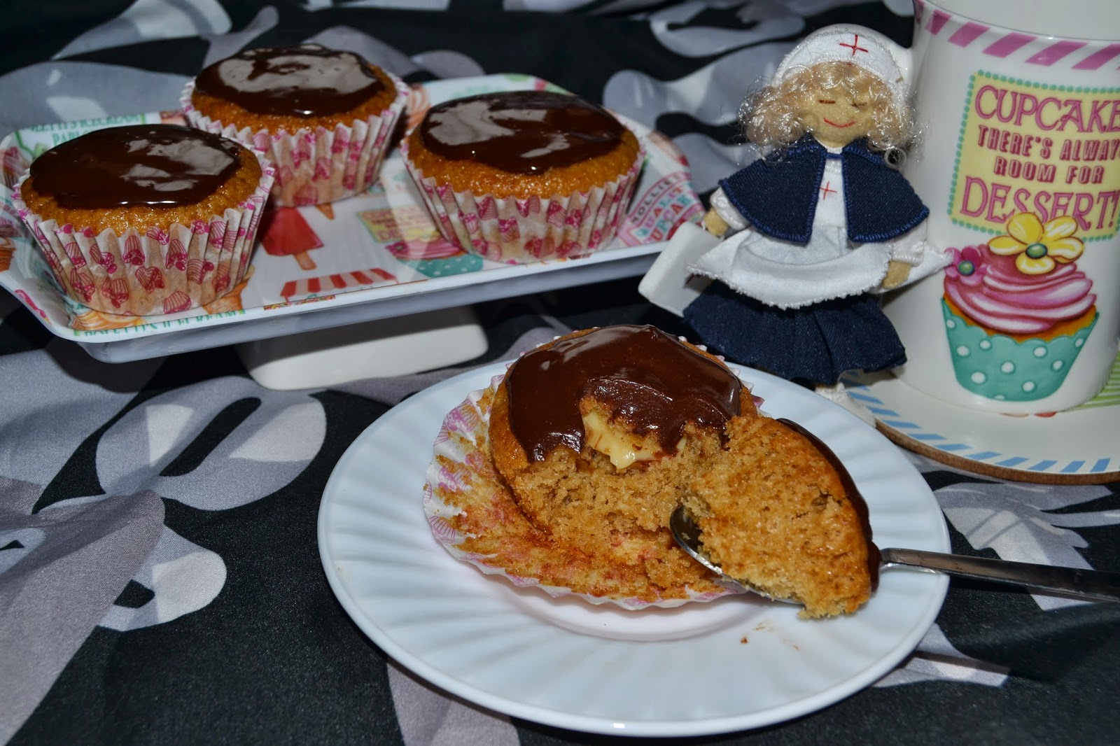 Deliriando en la cocina boston cream cupcakes for Cocina 5 ingredientes