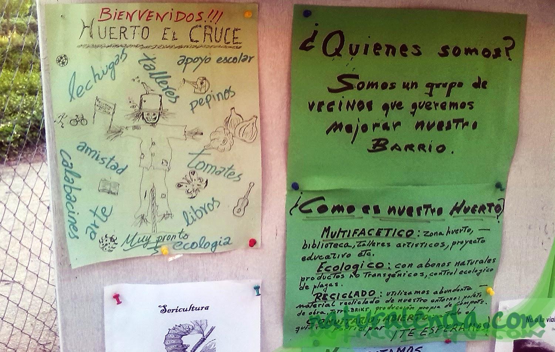 explicación del huerto el cruce de villaverde
