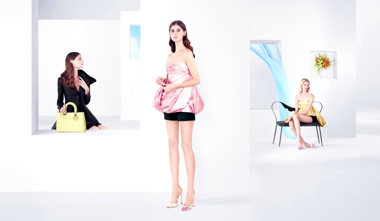 Dior Spring 2013 Ad Campaign: Daria Strokous, Kati Nescher ...