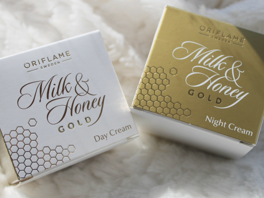 Oriflame Milk & Honey Gold Day & Night Cream