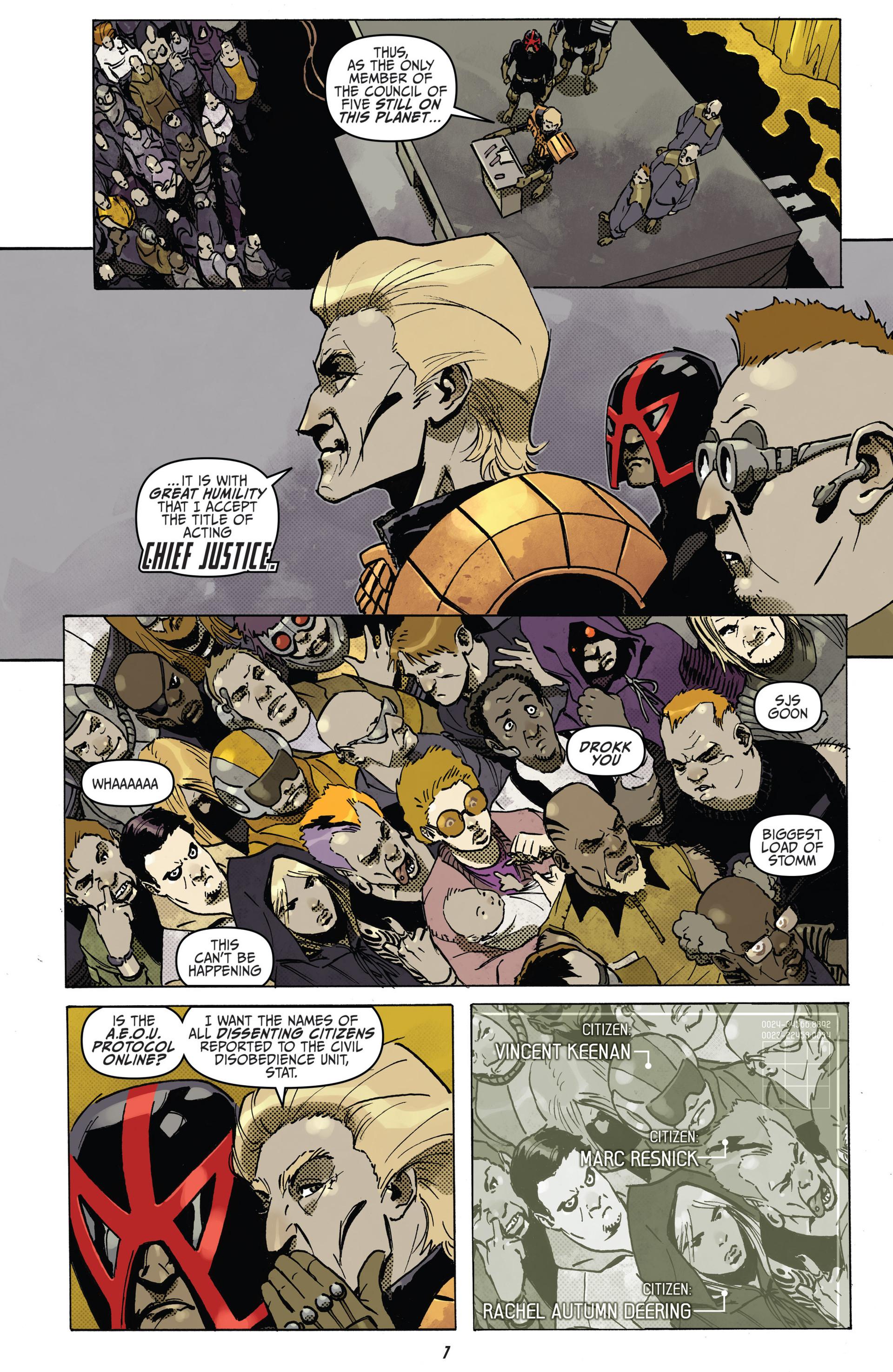 Read online Judge Dredd (2012) comic -  Issue #22 - 9