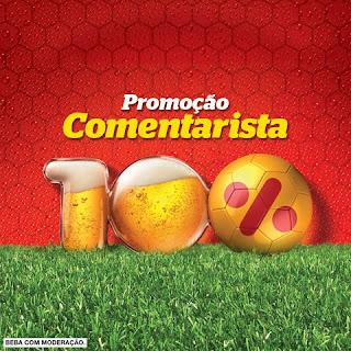 """Promoção """"Comentarista 100% - Itaipava"""""""