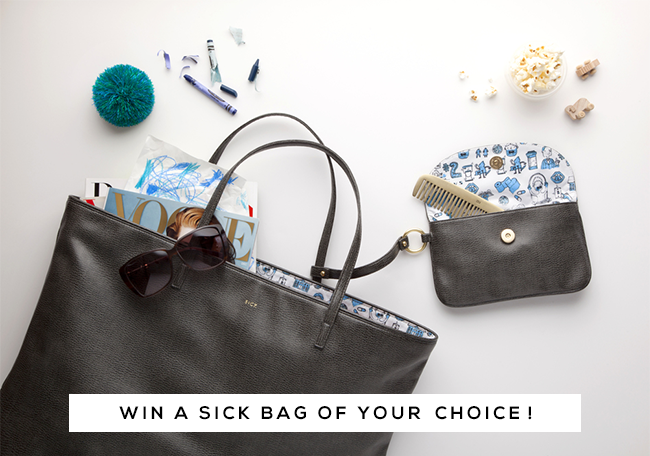 GIVEAWAY: Win a 'SICK Bag' Vegan Carry-All (of Your Choice) from Bubby and Bean!