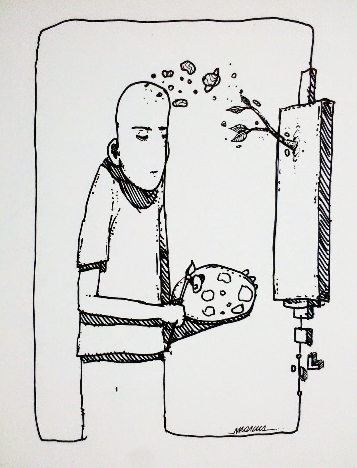 proyeccion arte - naturalmente - Marcos Santos- Marcus
