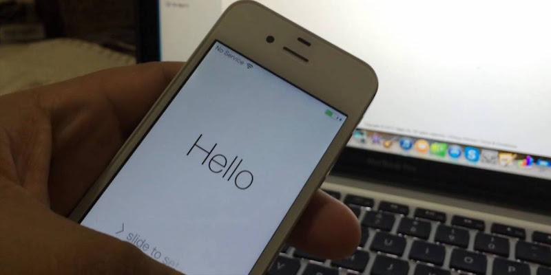 fix iphone activation error