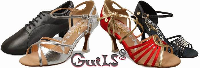 zapatos de baile de salón Guils - ADS