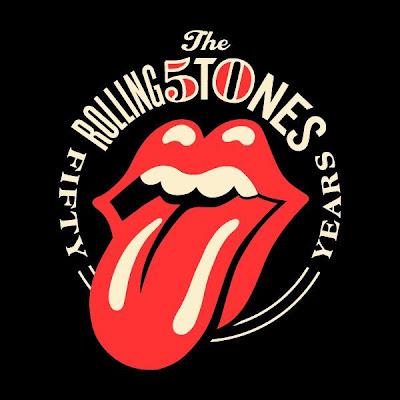 Logo dels 50 anys dels The Rolling Stones