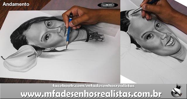 Desenhos Realistas (Maurício Fortunato Araújo) Faça já a sua encomenda!