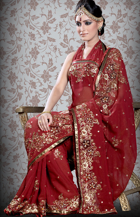Indian wedding sarees all entry wallpapers for Sari inspired wedding dress