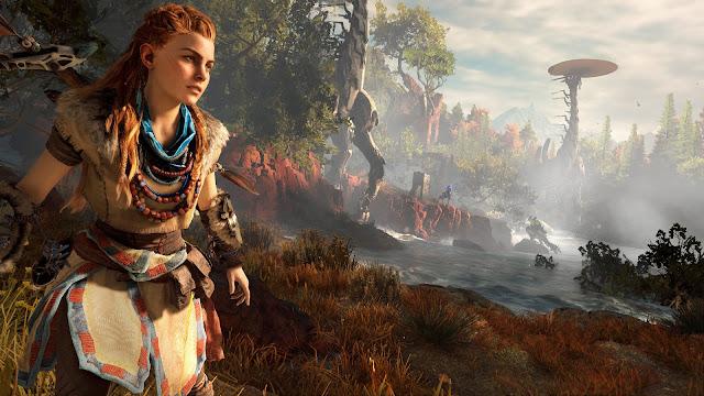 Mujeres protagonistas de videojuegos - Horizon PS4