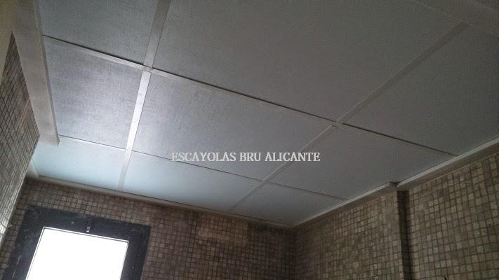 escayolas bru alicante: techos desmontables