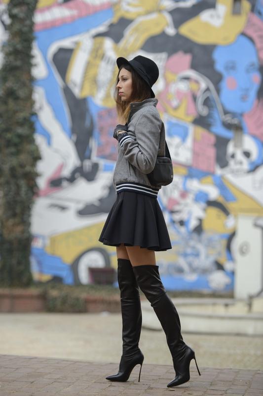 skater skirt streetwear