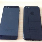 Picture showing for the first time to the black color to your iPhone 5C