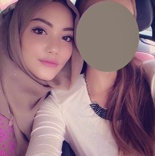 Wajah sebenar Nur Fathia tanpa mekap cukup mengejutkan