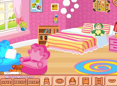 Juego para decorar la habitacion de barbie juegos de - Juego decorar habitacion ...