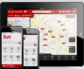 Click on the image to download the KW Mobile App