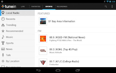 TuneIn Radio Pro listen to the world's radio