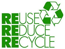 reuse, reduce, recycle are best solutions