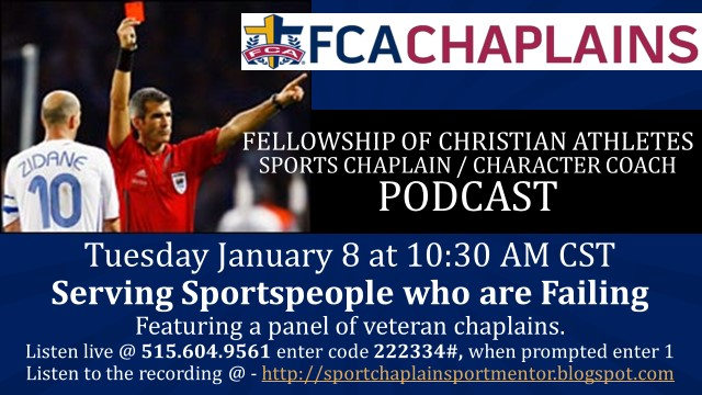 January 2019 Sports Chaplain / Character Coach Podcast