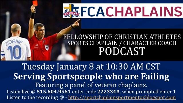 January 2019 Sports Chaplain / Character Coach Podcast