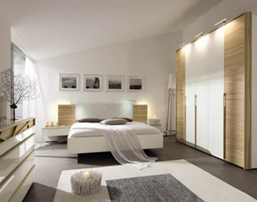 Modern single bedroom from hulsta for Single bedroom ideas