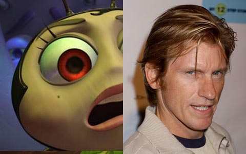 Denis Leary as Francis in A Bug's Life disneyjuniorblog.blogspot.com