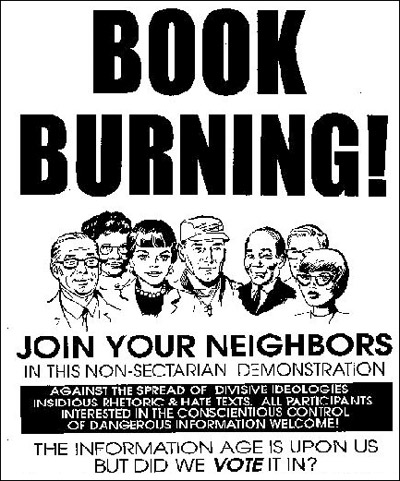 the day they burn the books The book burning was likened to the activities of the youth wing of the nazi   students are protesting against higher education fees, which they say  during  the day on campus, and on tuesday the university cancelled all.