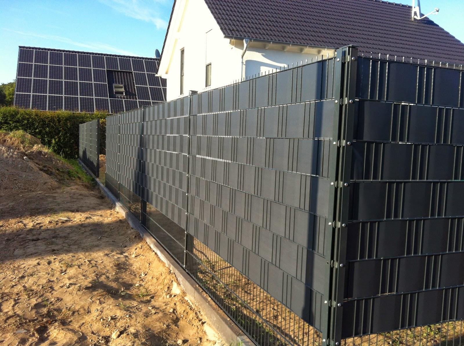 Kasia & Irek Wir bauen unser Traumhaus Terrasse Zaun und Rasen
