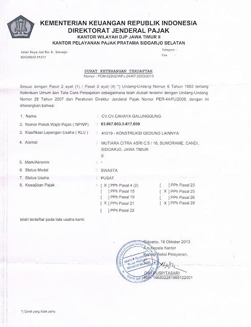 SuratKeteranganTerdaftar