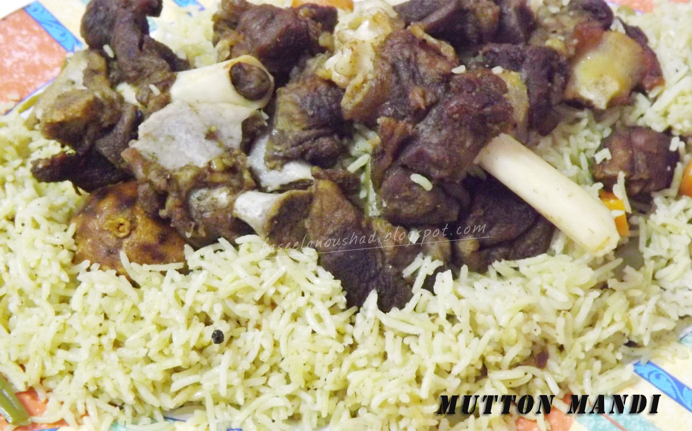 Good food ends with good talk mutton mandi method of preparation forumfinder Choice Image