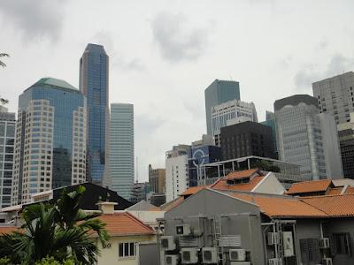 Raffles Place and Telok Ayer at Singapore