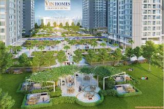 Phối cảnh chung cư Vinhomes Trần Duy Hưng
