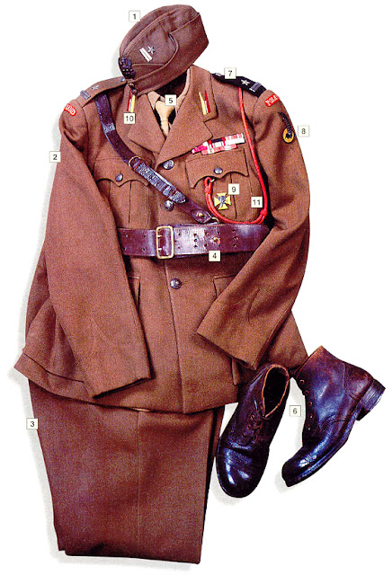 WW2 Military uniform - Major, 1st Polish Armoured Division (UK) 1942-43