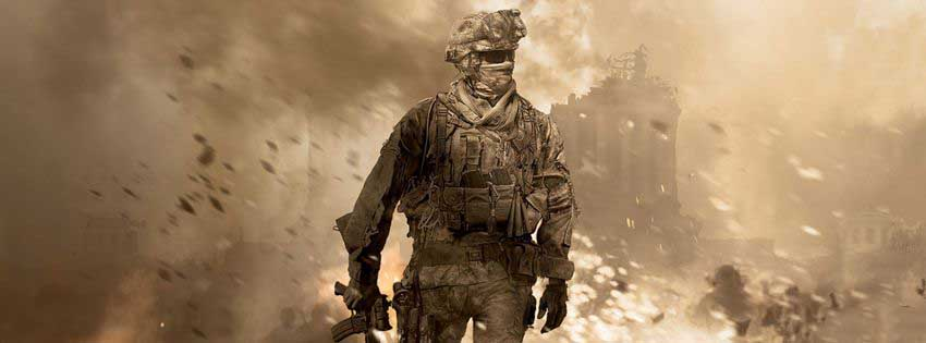 Call Of Duty Modren Warfare 2 Games Facebook Timeline Cover