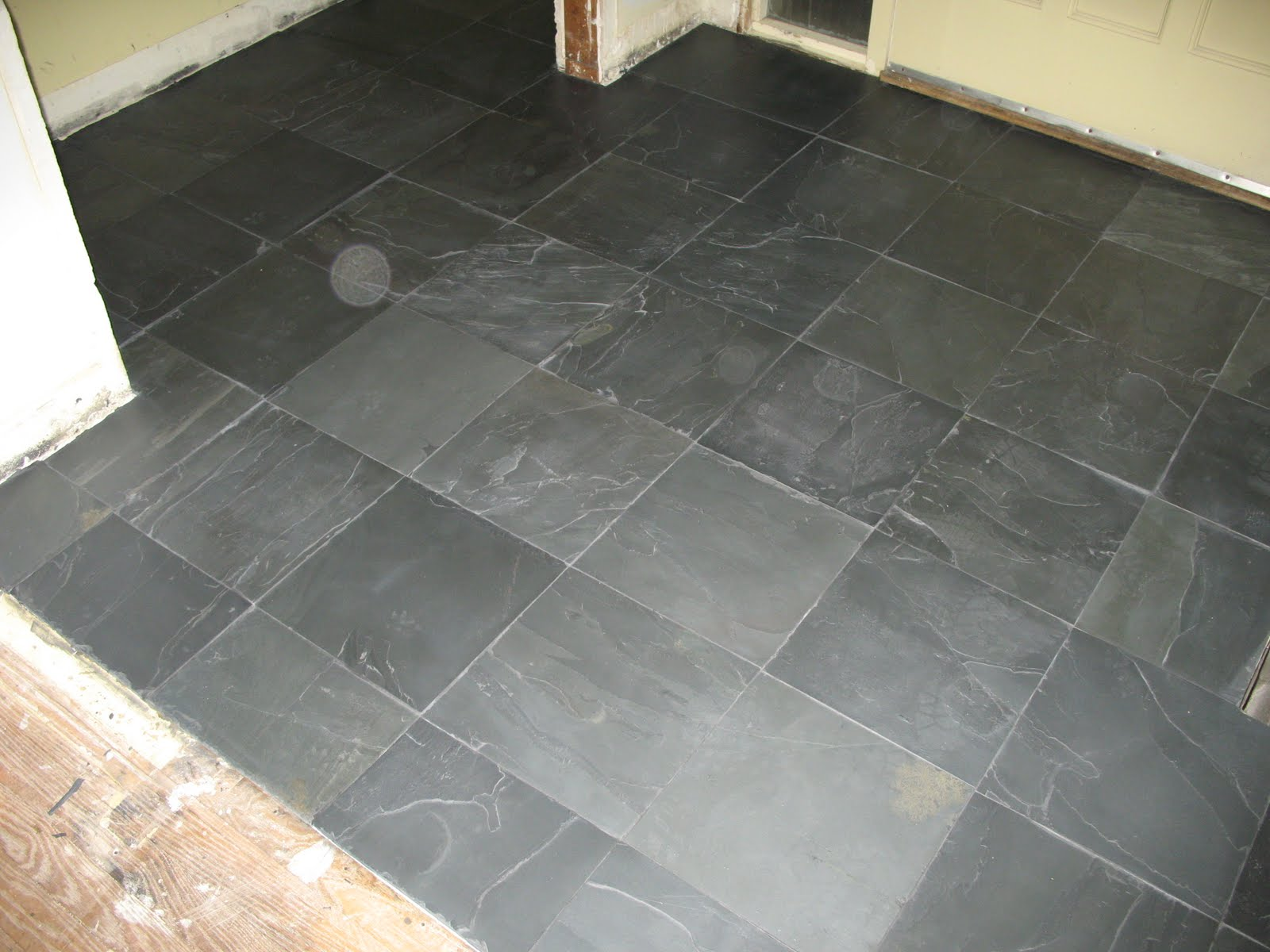 Midwestern malaise black tile white flag and it goes into the closet because im one of those fewer flooring materials the better guys dailygadgetfo Image collections